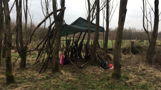 Brockholes Nature Reserve: Family den building.