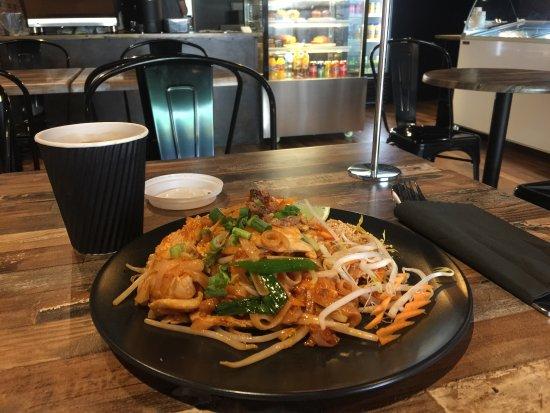 Southport, Austrália: Delicious Pad Thai ( Our signature dish )