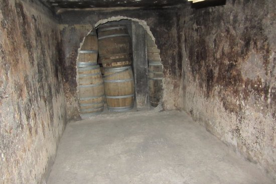 Bonnievale, Sydafrika: cellar walk way