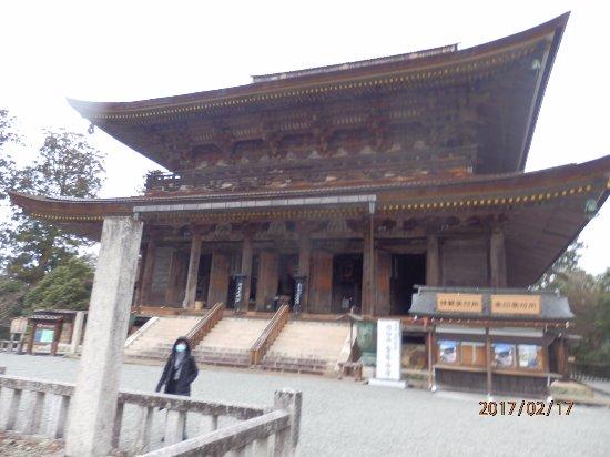 Kinpusenji Temple : 金峯山寺蔵王堂