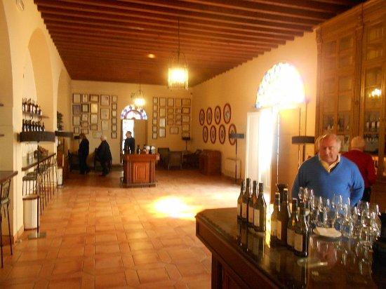 Bodega Lustau: The tasting room