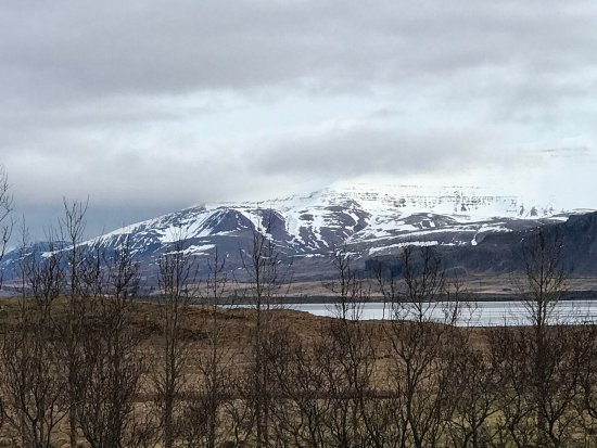 Borgarnes, Iceland: Clean quiet and scenery is just a peek away