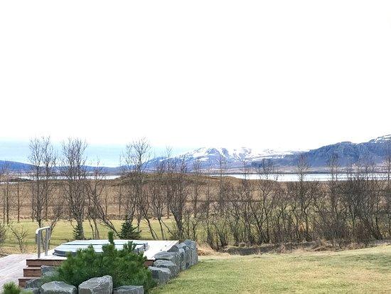 Borgarnes, Ισλανδία: Clean quiet and scenery is just a peek away