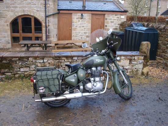 Bellingham, UK : It is a good place for Bikers