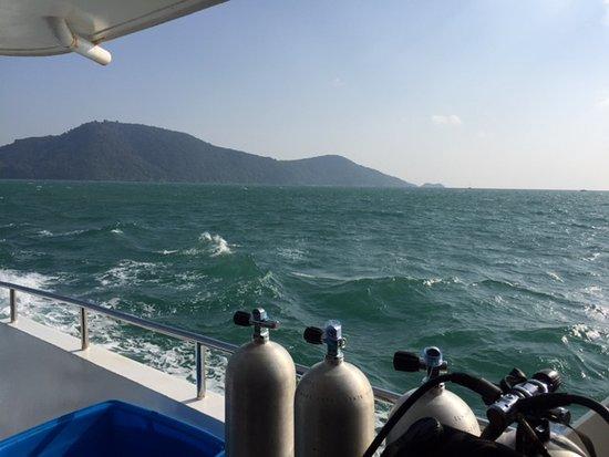 Rawai, Thailand: Sur le Mermaid