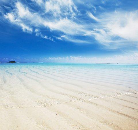 Hulhumale: sand banc