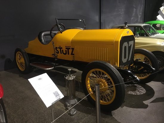 Nelson, Neuseeland: First American race car