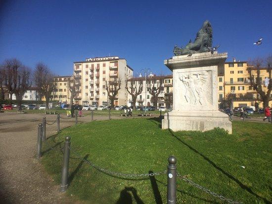 Piazza San Francesco a Pistoia