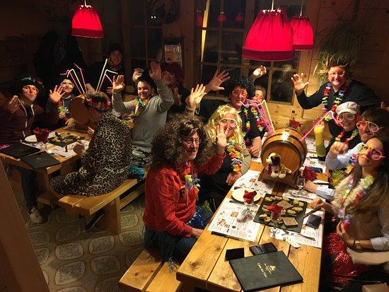Lelex, France: soirée carnaval
