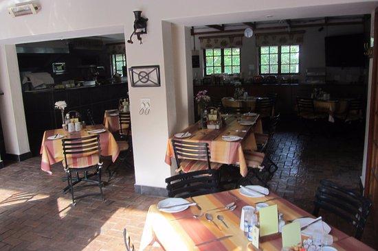 Rivonia, Republika Południowej Afryki: Breakfast room