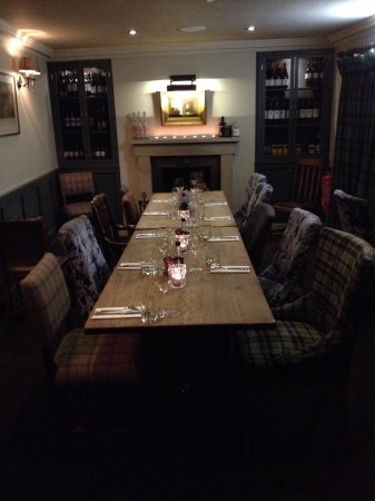 Great Eccleston, UK: Private dining for up to 14 guests