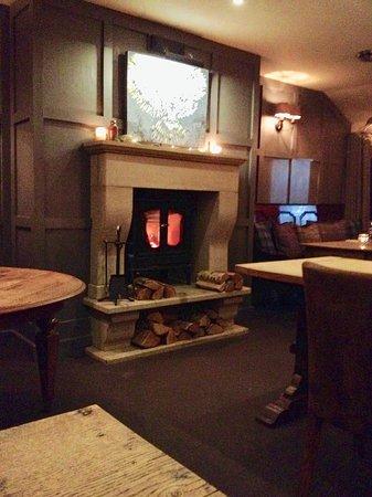 Great Eccleston, UK: Upstairs dining room