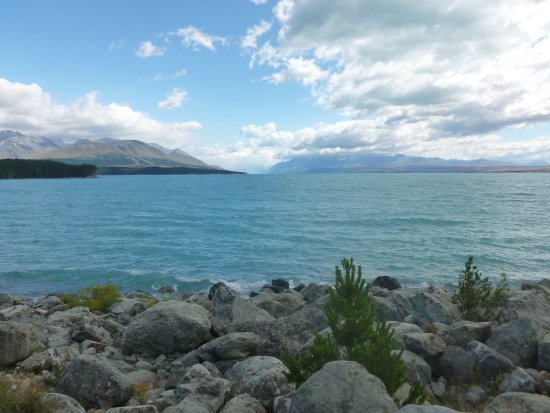 Canterbury Region, New Zealand: Lake Pukaki