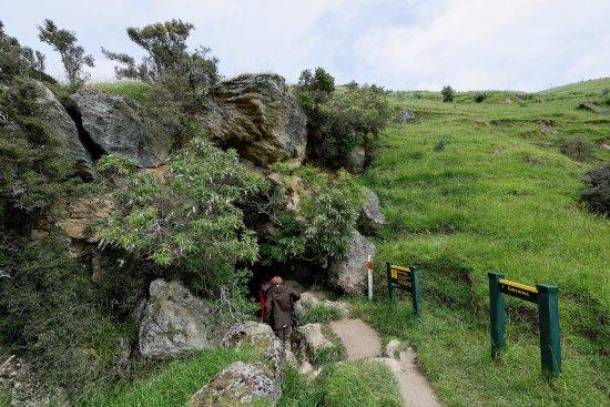 Southland Region, Nueva Zelanda: upper cave entrance