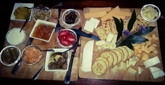 Lydenburg, South Africa: Cheese Platter