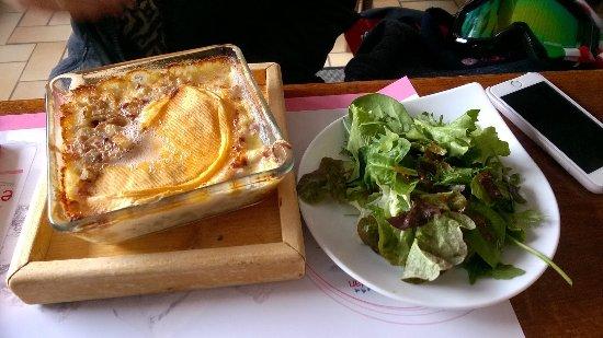 Oz en Oisans, França: Croziflette