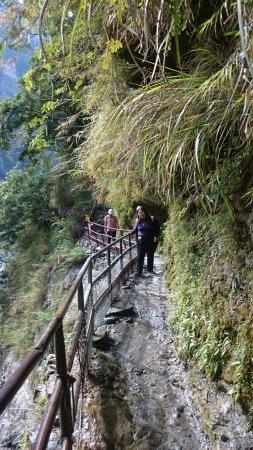 ฮัวเหลียน, ไต้หวัน: cliff side
