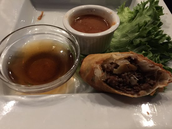Pasadena, MD: French dip spring roll
