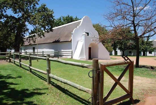 Западно-Капская провинция, Южная Африка: schöne, alte Gebäude