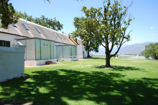 Western Cape, South Africa: Spa Bereich auf Babylonstoren