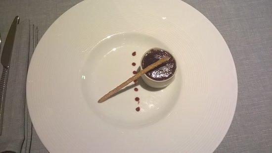 Chateau-Gontier, فرنسا: foie gras griottes
