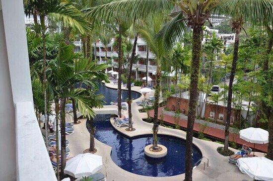 Sunset Beach Resort: Basen