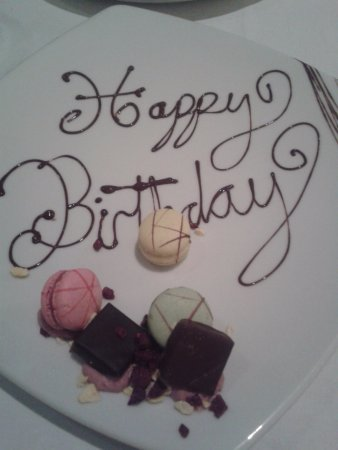 Castleknock, ไอร์แลนด์: My Birthday surprise from the staff!