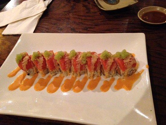 Kenner, LA: spicy tuna cilantro roll special