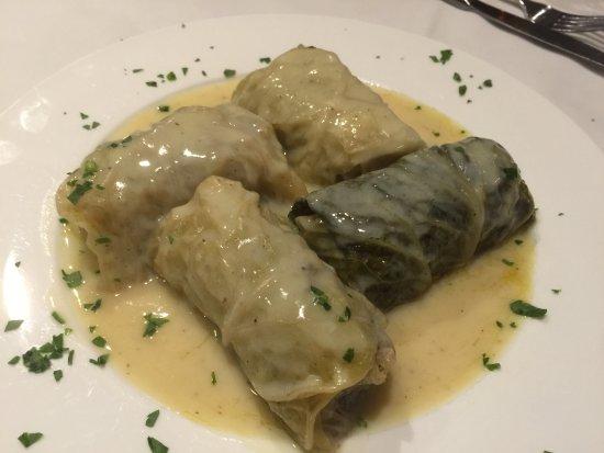 Little Neck, NY: Stuffed cabbage type dish