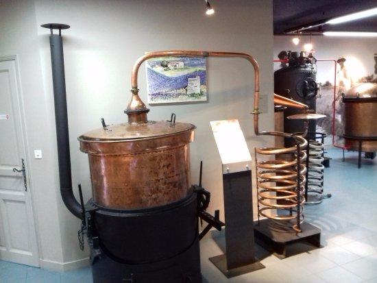 Gargas, Frankrijk: Un alambic à vapeur