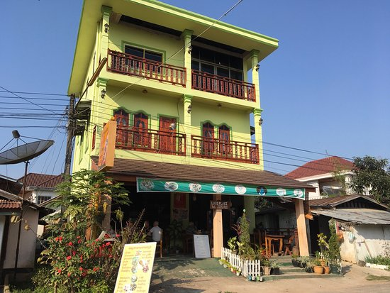Luang Namtha, Laos: The outside look, which is as inviting as the food.