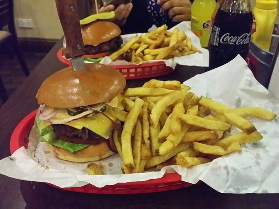 Uxbridge, UK: Red Iron Burgers