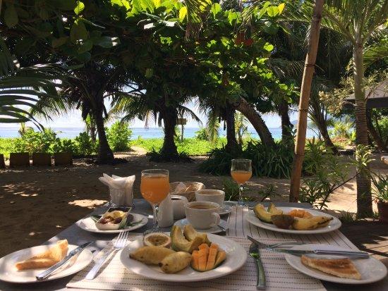 Anse Royale, Seychellerne: Breakfast
