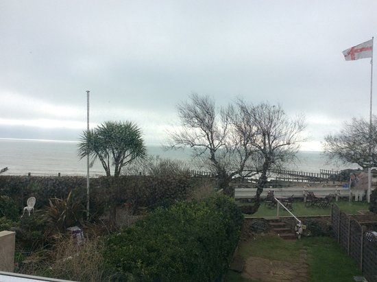 Felpham, UK: View from the room