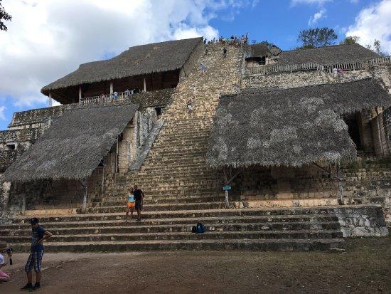 Temozon, Mexiko: Le temple royal