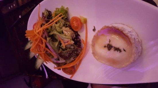 Offenbach, Germany: Salat Ziegenkäse