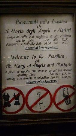 Basilica di Santa Maria degli Angeli e dei Martiri Foto