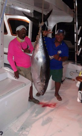 Quepos, Costa Rica: Monster Tuna