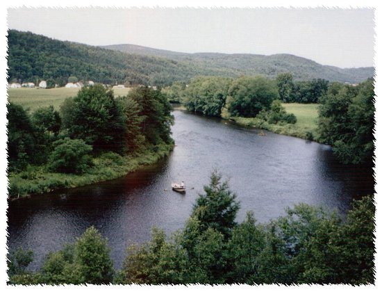 Pittsburg, Nueva Hampshire: Drifting the Connecticut River