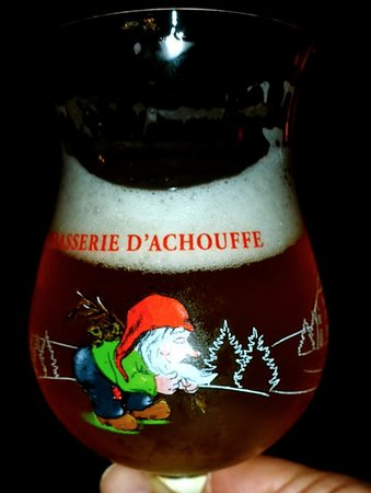 Woluwe-St-Pierre, Belgium: Weihnachtsbier