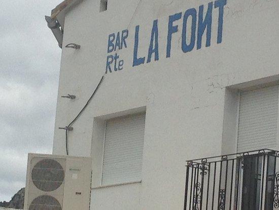Vall de Gallinera, Spania: La Font Restaurante