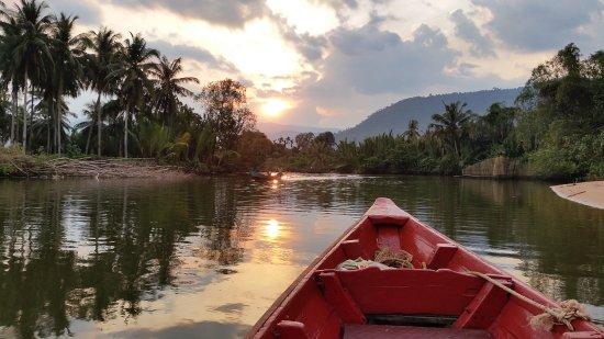 Kampot, Καμπότζη: Sunset