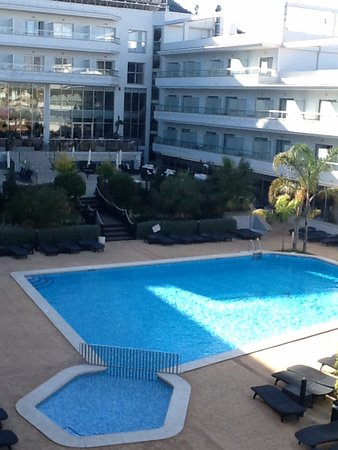 Albir Playa Hotel & Spa : achterkant hotel