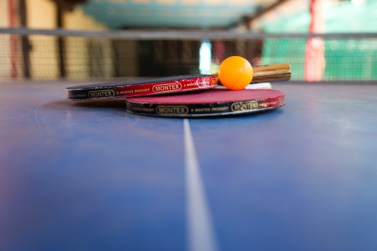 A stirring game of Table Tennis perhaps? - Picture of