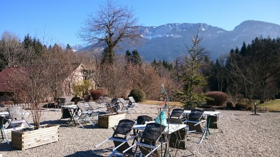 Thorens-Glieres, Francia: La terrasse