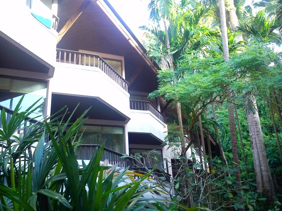 Aonang Princeville Resort: Один из балконов - наш