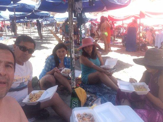 Mollendo, Perú: en catarindo