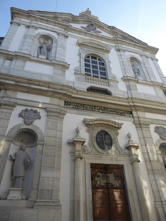 Solothurn, Ελβετία: the facade of the Jesuit Church