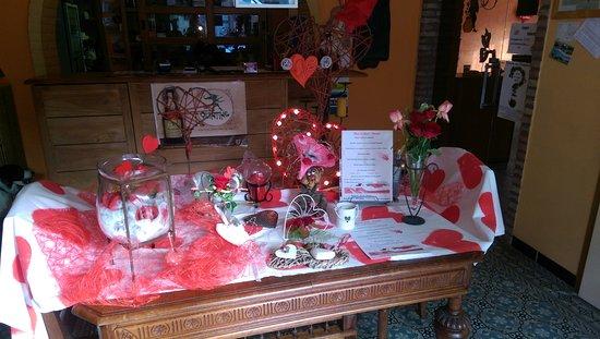 Ellezelles, Bélgica: La réception lors de la St Valentin
