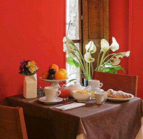 Hotel Properzio: Dettaglio colazione